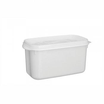 Caixa Organizadora Du Cheff 3,7 l Branca c/ tampa